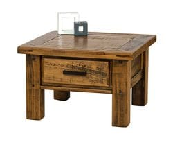 Woolshed Lamp Table