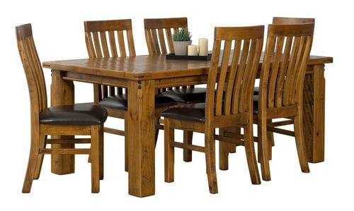 Woolshed 7pc Dining Suite Main