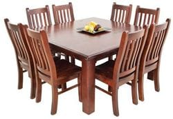Fitzroy 9pc Square Dining Suite