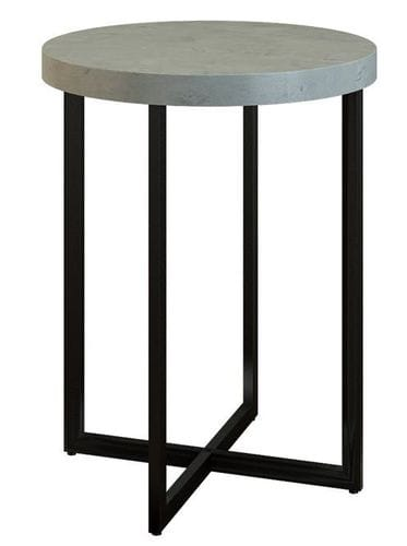 Stone Circle Lamp Table Main
