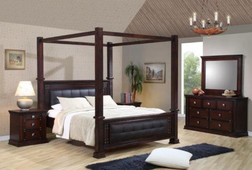 Norwood King 4 Post Bed Main