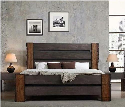 Grey Gum Queen Bed Main