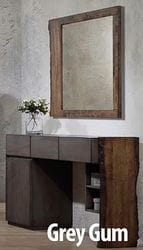Grey Gum Dresser/Mirror