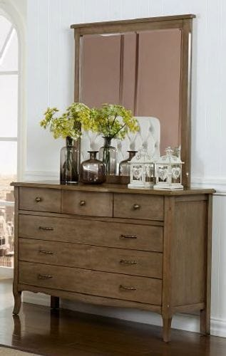Celeste Dresser and Mirror Main