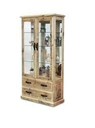 Outback Large Glass Display Cabinet