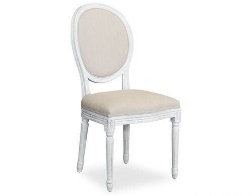 French Vintage Upholstered Dining Chair - Set of 2 Main