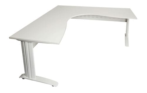 Rapid Span Corner Desk 1800/1200mm (White) Main