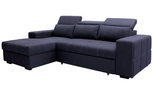 Francis Lounge with Sofa Bed & Storage Chaise Main