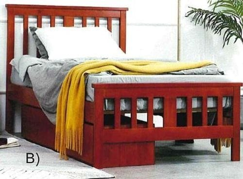 Billie Single Bed with Under Bed Drawers Main