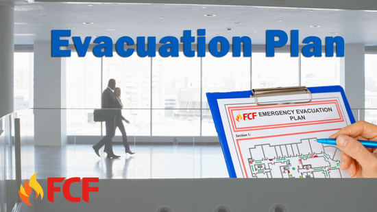 Have a Means of Escape and Clear Evacuation Route