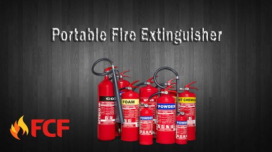 Portable Extinguishers and Wheeled Fire Extinguishers