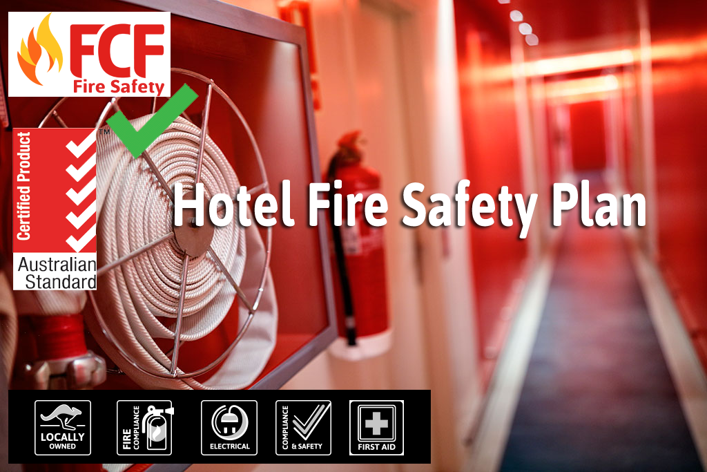 components of a hotel fire safety plan