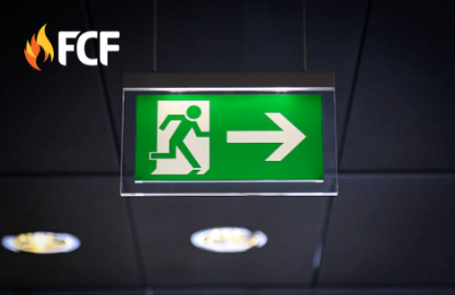 Emrgency  Exit Light Sign
