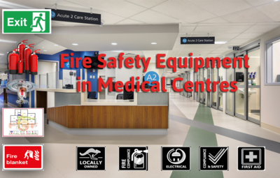 Fire Safety Equipment Medical Centres