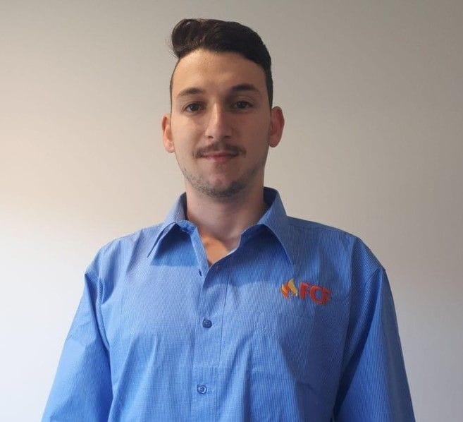 Jayden Azzopardi, FCF Wide Bay/Burnett | Queensland Fire, Electrical and Safety Compliance Services