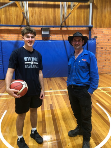 FCF Tasmania supports local Junior Basketball player
