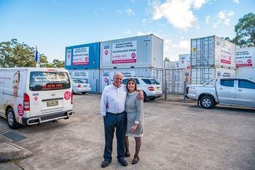 Chris and Karen Coulson, Gosford (Karis) Furniture Removals & Storage