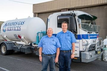 Rob and Kevin Haines - Haines Gas Service