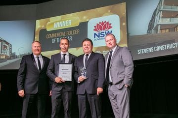 Coast builders clean up at Newcastle MBA Excellence Awards