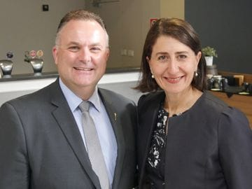 Adam Crouch appointed Parliamentary Secretary for the Central Coast