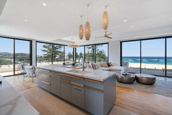 Tony Denny's luxury beachfront penthouse for auction