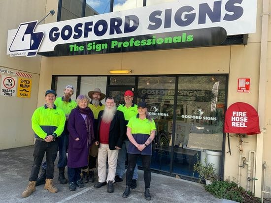 Gosford Signs - 50 years one family