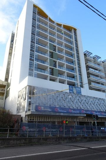 Gosford Central nearing completion