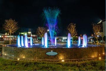 New fountain for Fountain Plaza Erina