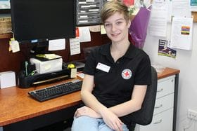 Caitlin Barnett &The Red Cross - a real success story!