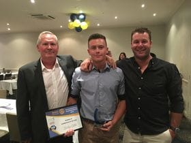 Briley Gibbs wins Industry Award and Runner Up Apprentice of the Year at Riverland and Mallee Vocational Awards!