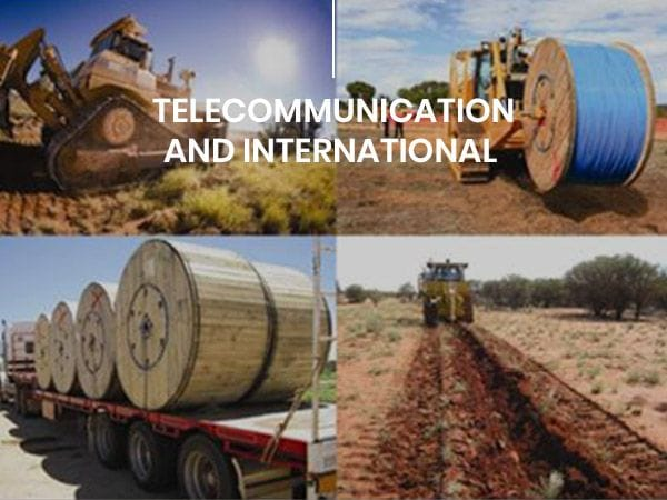 Telecommunication | Global Pacific | Construction Projects Australia