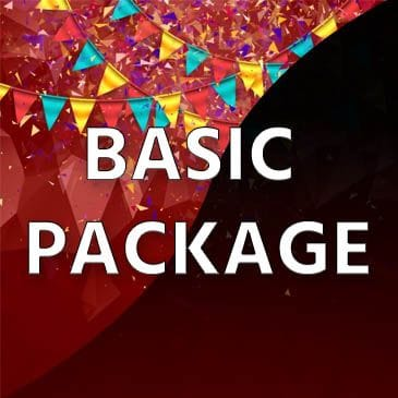 Child Party Rentals Basic Package | Magical World Entertainment