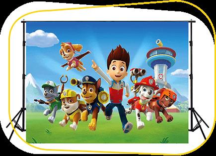 Theme Decor Backgrounds | Magical World Entertainment