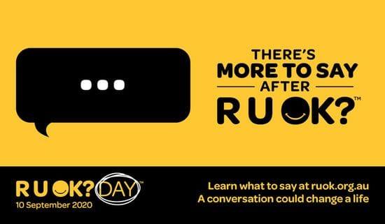 RU OK? A conversation could change a life