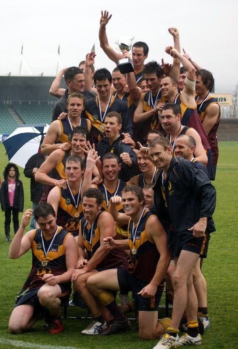 Old Scotch Collegians Football Club (OSCFC) - 2010 Northern Tasmania Football Association (NTFA) Grand Final