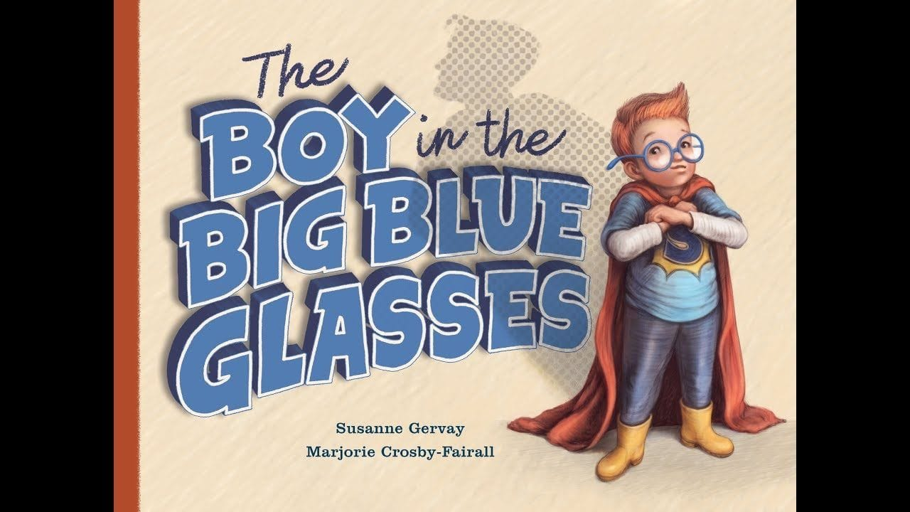 The Boy in the Blue Glasses