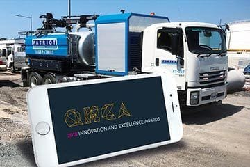 Patriot selected as finalists in the QMCA 2018 Innovation and Excellence Awards