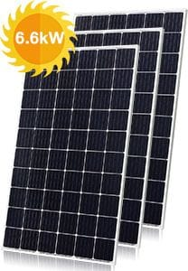6.6kW Solar Panels | Residential Solar Power QLD NSW