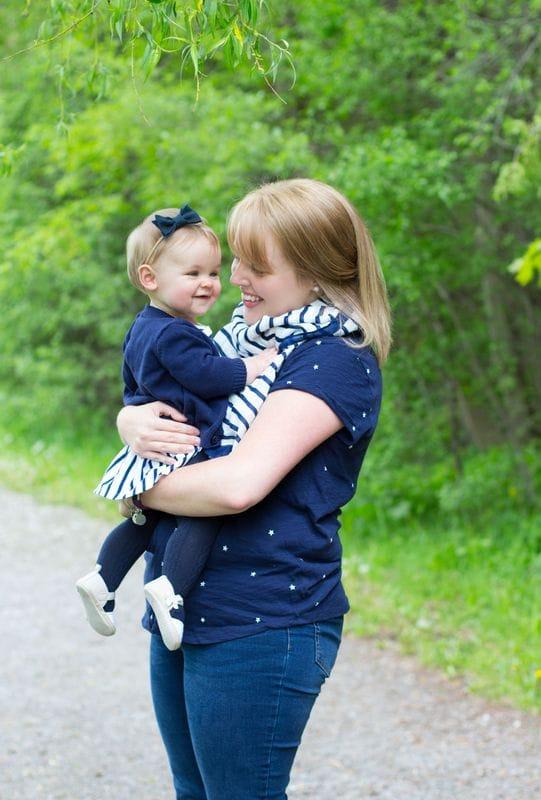 Mommy & Me (Ashley & Lila) | Durham Region Family Photographer