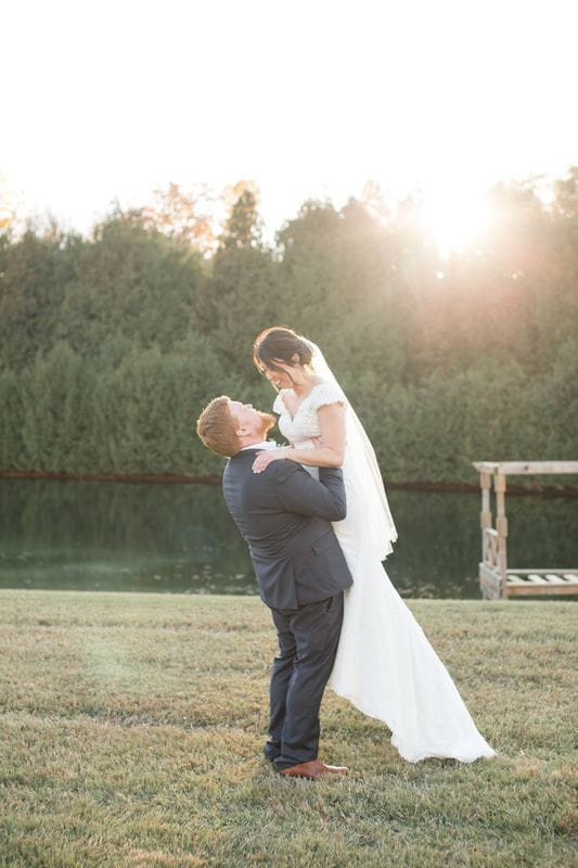 Rebecca & Justin | A Fall Wedding at Rolling Acres