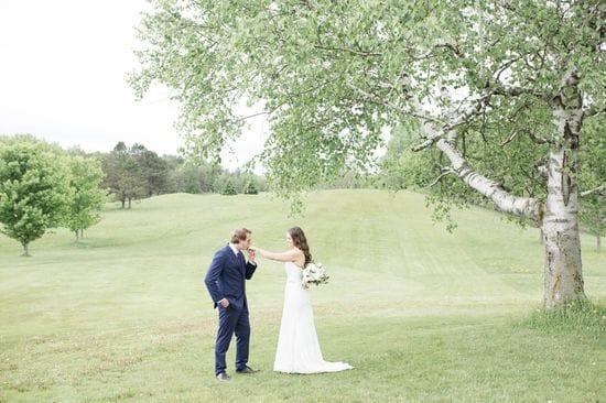 Becky & Jake | Bride & Groom Portraits | Summerlea Golf Course
