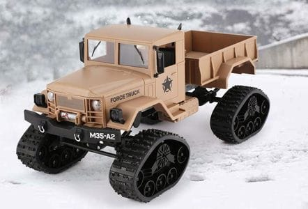 RC TRUCK MILITARY
