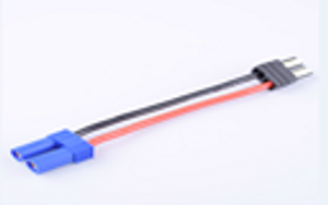 FUSE2630 TRX Series Battery Connector Adapter Cable Male to EC5Plug  Female Plug  14AWG 100MM