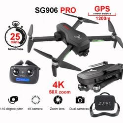 APEX SG906 PRO Video Drone Helicopter Toy Flight 25 Minutes 4K Camera Drone Professional Long Range 4K