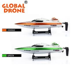 Feilun FT009 2.4G 30km/h High Speed RC Racing Boat with Water Cooling Self-righting System