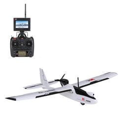 Global drone WLtoys GWXKA1200 3D6G Brushless Motor Fixed-wing Airplane 5.8G FPV 6CH S-FHSS EPO RC Airplane Glider RTF vs k123