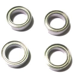 4 PIECES--BE001 BALL BEARING (10X15X4MM)