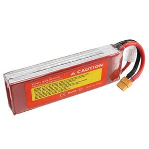 Zop Power 3s 11.1v 5000mah 60c xt60 plug Rc Car Lipo Battery