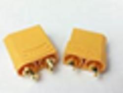 Female Male XT90 Banana Plug Bullet Connector 4.5mm   1 pair