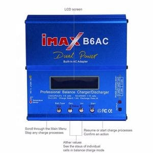 IMAX B6 AC 80 Watt Dual Power Battery Charger